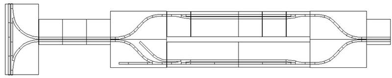 Masterpiece Modules - T-trak N Scale (Loop Entrance)